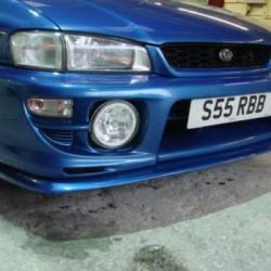 Lame avant de pc V-limited pour Subaru GT99.00
