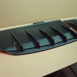 Diffuseur arrière noir pour Subaru STI8/8.5/9 du 03.07