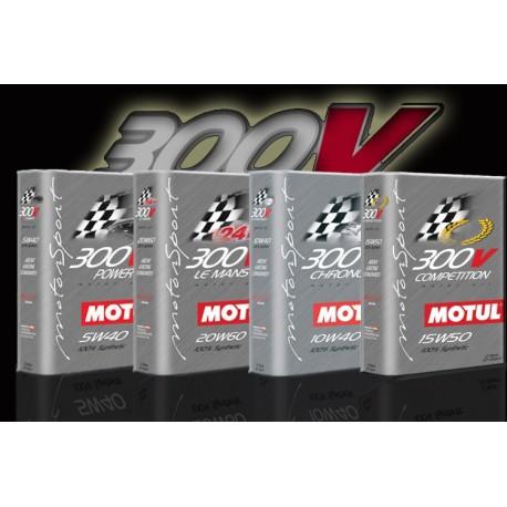 Pack vidange Motul 300v 15w50 100% Nissan SR20DET