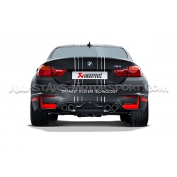 Diffuseur carbone Akrapovic pour BMW M3 F80 / M4 F8x