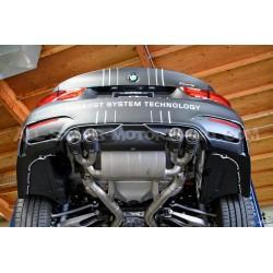 Echappement Akrapovic Slip-On Titane pour BMW M3 F80 / M4 F8x