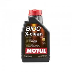 1L Huile Motul 5W40 8100 X-Clean (BMW, Mercedes, Porsche, Renault Sport)