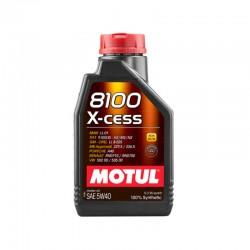 1L Huile Motul 5W40 8100 X-Cess LL-01 (BMW, Mercedes, Porsche, VW, GM...)