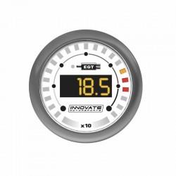 Manomètre Température d'Echappement Innovate MTX-D (Analyseur EGT 1100°C)